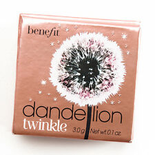 Benefit Cosmetics DANDELION TWINKLE Glow Face Highlighter - Full Size 0.1 oz.