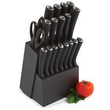 20 Piece Knife Block Set Knives Kitchen Chef Cook Steak Kitchen Cutlery Scissors