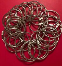 (35) Loose Leaf Binder Rings 2""