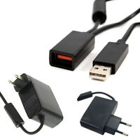 AC Adapter Power Supply USB Cable Cord for Microsoft Xbox 360 Kinect Sensor