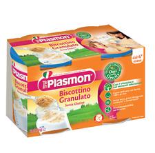 2x PLASMON BIscottino granulato Baby nahrung 374g ab 4 Monaten kinder kekse