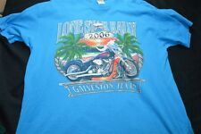 Lone Star Rally Galveston 2006 Blue Xl Graphic Tee Men's Shirt
