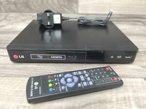 LG BP240 Blu-ray & DVD Upscaling Player With USB Playback