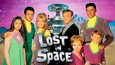 Lost In Space Cast 1960's TV Show Sticker or Magnet