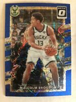 Malcolm Brogdon 2017-18 Donruss Optic Blue Velocity Prizm Parallel Insert SP