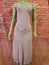 United Colors Of Benetton Women's Pink Polyester A-Line Women's Dress size