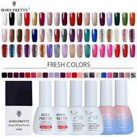BORN PRETTY 10ml Magnetic Gel Polish Red Glitter Soak Off UV Gel Nail Varnish
