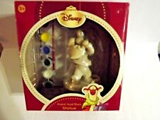 Disney Christmas Tigger Paint Your Own Statue ~ NEW Vintage