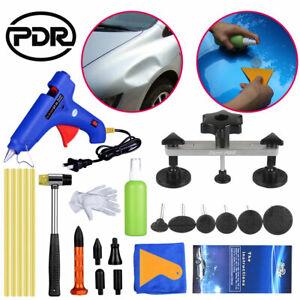 PDR Tools Car Paintless Dent SMART Repair Hail Removal Puller Bridge & Glue Set