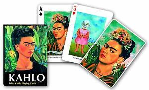 Frida Kahlo set of 52 playing cards + jokers (gib)