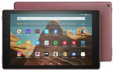 "Plum (Red) NEW Amazon Fire HD 10 B07KD8R6HD 2019 release 10.1"" Tablet 32GB  32"