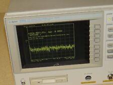 Hp/Agilent 4395A Network / Spectrum / Impedance Analyzer W/ Option 1D5
