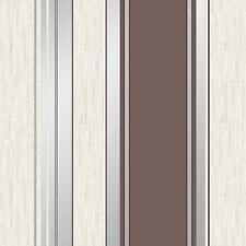 SYNERGY STRIPE GLITTER WALLPAPER CHOCOLATE BROWN - VYMURA M0802