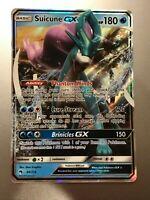 Suicune GX 60/214 - SM Lost Thunder - Ultra Rare - Near Mint - Pokemon