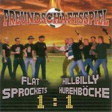 Flat Sprockets / Hillbilly Hurenböcke Freundschaftsspiel (CD) NEU Oi Punk Skin