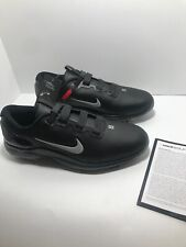 Nike Golf Tiger Woods Tw71 Fast Fit Golf Shoes. Black Cd6300-001 Size 10.5