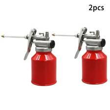 400//500ml Oil Can Die Casts Body With Rigid Spout Thumb Pump Creative Tool Oiler