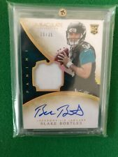 2014 Immaculate Blake Bortles Rookie auto patch /25 football card Jaguars Rams
