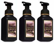 3 Bath & Body Works VANILLA COCONUT Gentle Foaming Hand Soap Lot