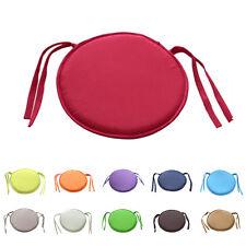 Indoor Dining Garden Patio Home Office Kitchen Round Chair Seat Pads Cushion LJA