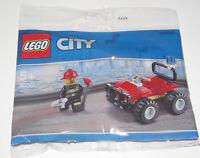 Lego ® Set Complet Polybag City Le 4x4 des Pompiers 30361 NEW