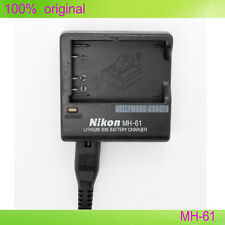 Genuine Original Nikon MH-61 Charger for Coolpix P3 S10 P80 3700 EN-EL5 Battery