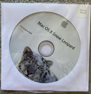 New Apple Mac OS X Snow Leopard 10.6  MacBook Pro iMac Mini ETC CPU Drop-in DVD