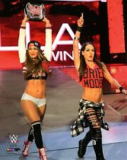 WWE PHOTO NIKKI BELLA BRIE BELLA TWINS NEW 8x10 WRESTLING PROMO TOTAL DIVAS