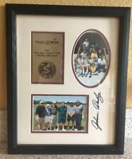 John Daly Autographed Signed and Framed 11x14 Make A Wish Golf Classic 2000