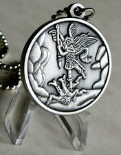 St. Michael The Patron Saint of Paratroopers Airborne Pendant With ball chain