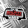 DUB WARS the splitty strikes back car sticker 95mm x 60mm oilcan star wars decal