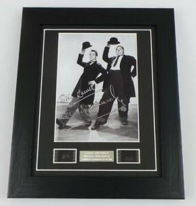 LAUREL AND HARDY Film Cell + Signed PREPRINT Vintage Movie Memorabilia GIFTS