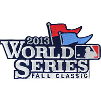 2013 Official MLB World Series Logo Jersey Sleeve Patch Emblem Boston Red Sox