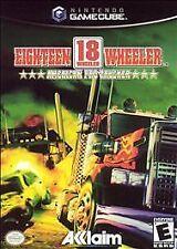 game Nintendo Gamecube Eighteen Wheeler 18 American Pro Trucker with book