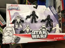 Star Wars Galactic Heroes Imperial Force 6 Pack Storm Trooper Figures and more