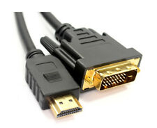 3m DVI to HDMI Digital Cable Lead for PC LCD HD TV Gold