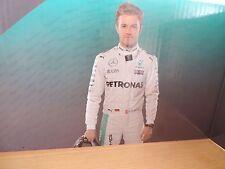 Nico Rosberg 1:18 1:43 Display Card Diorama Pit background Model F1 Mercedes New