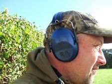Blue Clay Shooting Hunting Passive Compact Folding Pocket Ear Muffs Defenders