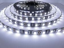 1M 5M 5050 300led Strip Light car DRL DIY tape lamp DC12V Black PCB