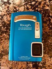 Olympus Tough TG-320 14.0MP Digital Camera - Blue (read description)
