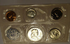 1957 US PROOF SET, ORIGINAL MINT CELLOPHANE