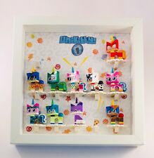 Display Case Picture Frame for Lego Unikitty Series 1  minifigures figures