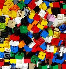 ☀️500 BRAND NEW LEGO Bulk Lot BRICKS 2x2 MIXED Colors MIX LEGOS 3003