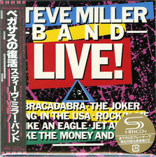 STEVE MILLER BAND, ...LIVE ! - AUTH LTD ED SHM-CD JAPAN 2017, UICY-78266 (NEW)