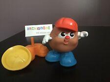 "Vtg Hasbro Playskool 1986 Potato Head Kids ""Big Chip"" Complete Hats & Shoes"