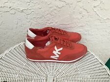 Michael Kors  Coral Stanton Women's Trainer Sneakers Lace Up Flats Size 7.5 M