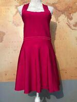 💜New Pink Zara Knit Bandage Dress With Tags size L💜