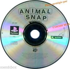 PlayStation 1 ANIMAL SNAP Rescue them 2 by 2 jeu video SONY psx ps1 ps2 testé ok