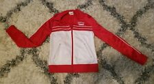 Track Suit Warm Up Jacket Red Cheer Dance Gymnastics youth S girls 10 Baby Girl