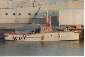 Bundesmarine, Marinearsenal Wilhelmshaven Dienstboot MA 4, Foto 10x15cm